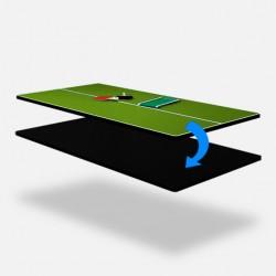 Beidseitige Abdeckplatte Tischtennis/Esstischblatt 9ft