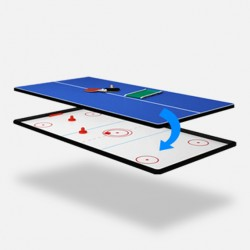 Beidseitige Abdeckplatte Tischtennis/Air Hockey 9ft