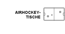 Air-Hockey in unserem Angebot